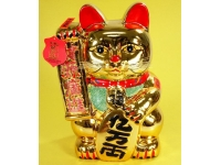 仿金招財貓 Golden lucky cat