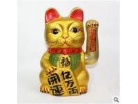 皺金搖手貓 Golden waving cat