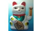 塑料电动白貓 Plastic Lucky Cat