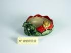 """4"""" 青蛙荷花盆 Bamboo Pot"""