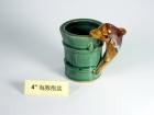 """4"""" 海豚抱盆 Bamboo Pot"""