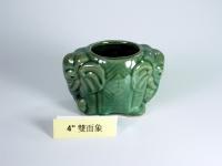 "4"" 雙面象 Bamboo Pot"