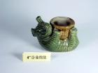 """4"""" 卧象抱盆 Bamboo Pot"""