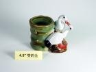 "4.5"" 雙鹤盆 Bamboo Pot"