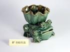 "5"" 靑蛙托盆 Bamboo Pot"