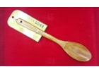 本色老漆30x5.8尖飯勺 Wooden Rice Spoon
