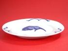 平盤(藍魚) Round Plate