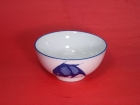 企口碗(藍魚) Rice Bowl
