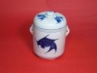 蔘盅(藍魚) Ginseng Pot