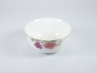 "4.5""骨瓷金钟碗 (香妃) Bone China Bowl"