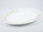"12""骨瓷鱼盘(阳光玫瑰) Bone China Plate"