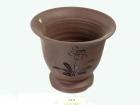 红拼君子兰盆 Clay Pot