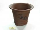 红拼熊猫盆 Clay Pot