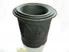 紫仕女盆 Clay Pot