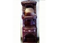 205x50cm三層中門高級紅木神臺 Wooden Altar