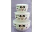一家四口(女孩)保鲜碗 Ceramic Lunch Box