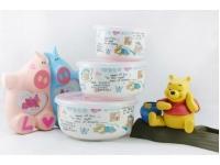 维尼熊保鲜盖碗 Ceramic Lunch Box