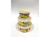 小黃人保鲜盖碗 Ceramic Lunch Box