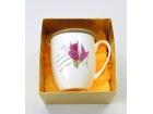 強化骨瓷杯(清晨玫瑰) Bone China Cup W/Lid