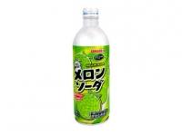 日本碳酸汽水哈密瓜味 SANGARIA Melon Soda - ALU