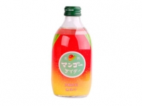 日本碳酸汽水芒果味  T- Mango Flavour Carbonataed Drink (Glass)