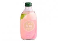 日本碳酸汽水白桃味 T- Peach Flavour Carbonated Drink (Glass)
