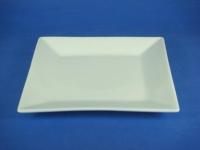 正方鐵板盤(強化瓷) Square Plate