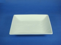 """8"""" 正方水紋盤(強化瓷) Square Wave Plate"""