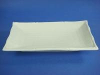 長方竹節布紋盤(強化瓷) Bamboo Plate