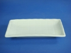 長方竹紋盤(強化瓷) Regtangular Plate