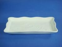 長方海浪盤(強化瓷) Wave Plate