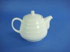 雙線大同壺(強化瓷) Tea Pot