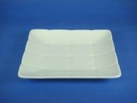 正方方格坢(強化瓷) Square Plate