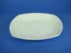 方圓方格盤(強化瓷) Round Square Plate