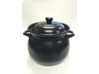 康舒土锅(黑釉) Earthen Pot