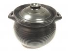 0174 康舒土煲(黑釉)  Durable Pot