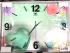 玻璃挂鐘 Glass Wall Clock