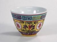 厚工中杯(粉彩) Tea Cup