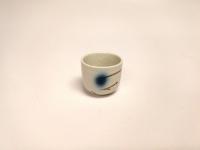 """2.5"""" 横纹酒杯(赤流)  Sake Cup"""