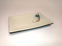 """8"""" 日式长方盘(赤流)  Rectangular Plate"""