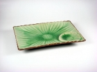 """8"""" 長方菊花盤(日式色釉) Sushi Plate"""
