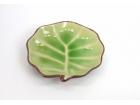 """6""""樹葉碟 (日式色釉) Leaf Plate"""
