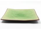 正方曲綫盤 (日式色釉) Square Plate
