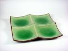 正方四格盤(日式色釉) Divided Plate(Square)