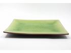 長方曲綫盤 (日式色釉) Rectangular Plate