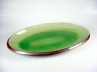 蛋形反口盤(日式色釉) Oval Plate