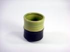 竹節杯(日式色釉) Tea Cup