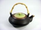 羅紋柿柄壺(日式色釉) Japanese Tea Pot