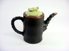竹節壺(日式色釉) Japanese Tea Pot