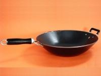 包邊搪瓷生鐵平底鍋(單柄) Iron Wok